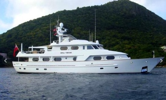 Amels 120' Motor Yacht Charter In Mallorca