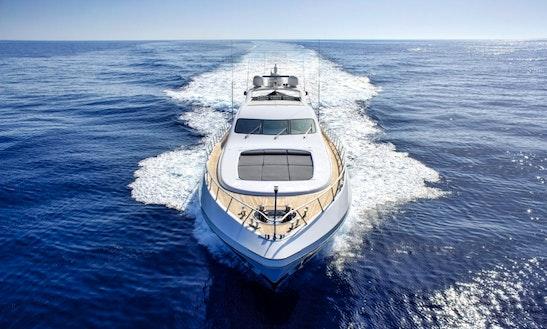108' Motor Yacht Charter In Ibiza