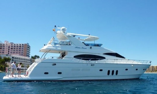 80ft Vitech Euro Motor Yacht Charter In Palma, Spain