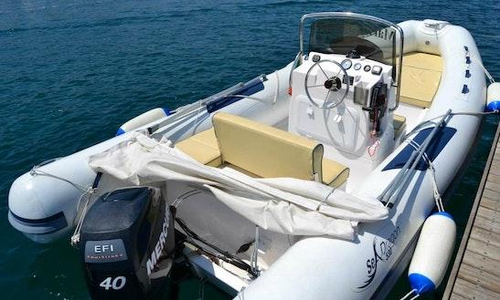 Seadragon 530,  Rent Rib In Italy