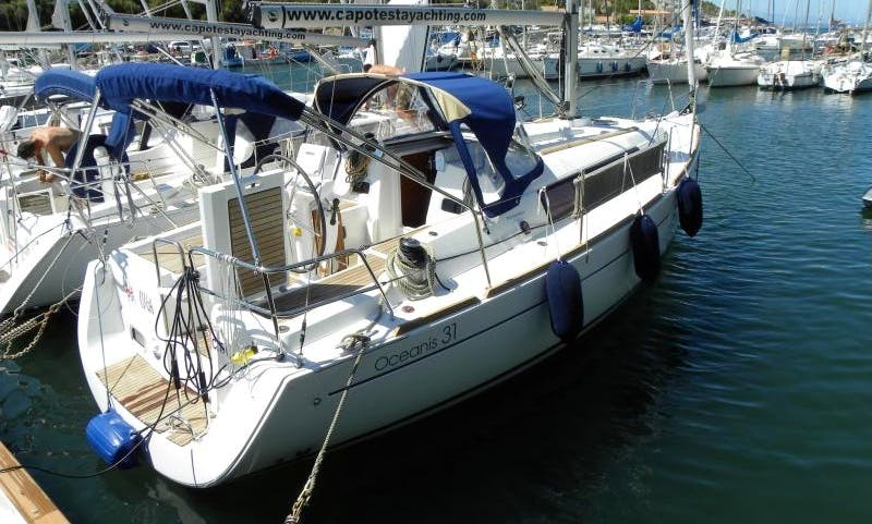 Charter a 31' Sailing Yacht for 6 Person in Sardegna, Italy