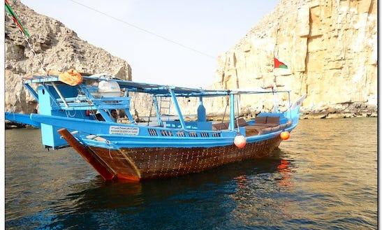 Half Day Dhow Cruise To Khor Sham With Dolphin Watching