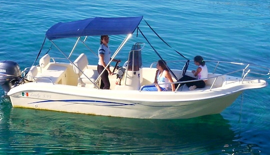 Lady 20' Center Console Rental In Castro, Italy