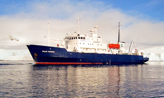 Mv Polar Pioneer In Antarctica