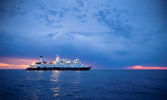Mv National Geographic Orion In Antarctica