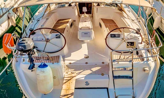 Cruising Monohull Rental In Nea Moudania