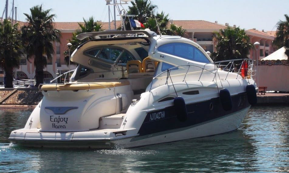 Charter a Cranchi 47 HT Motor Yacht in Frejus