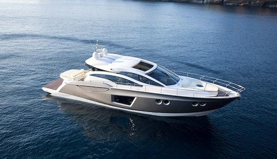 France Sessa C 54 Luxury Motor Yacht Charter