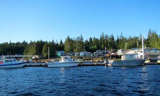 Fishing Charter On 14ft Livingston Skiff In Ketchikan, Alaska