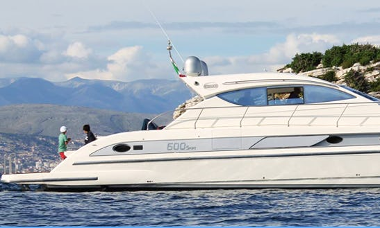 Power Mega Yacht Rental In Otranto