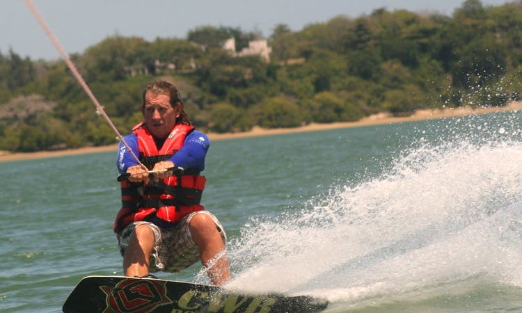 Water skiing/wakeboarding tows & tuition in Kilifi