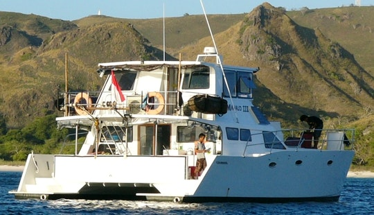 Indo Cat Surf Charter Boat In Bali