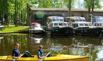 Rent Canoe in Germany Zehdenick