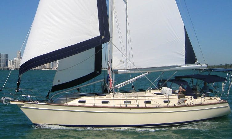 Miami Sailing Charter on 46' Captain Sir!