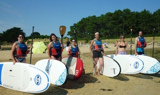 Paddleboard Rental in Quiberon Auray and Vannes