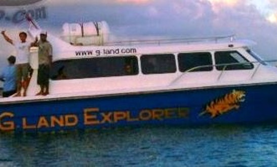 G-land Motor Yacht Hire In North Jakarta