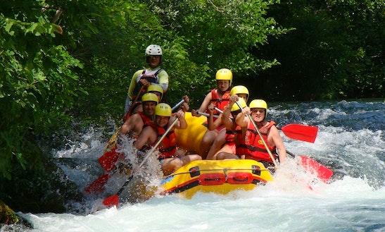 Vir Rafting On Cetina