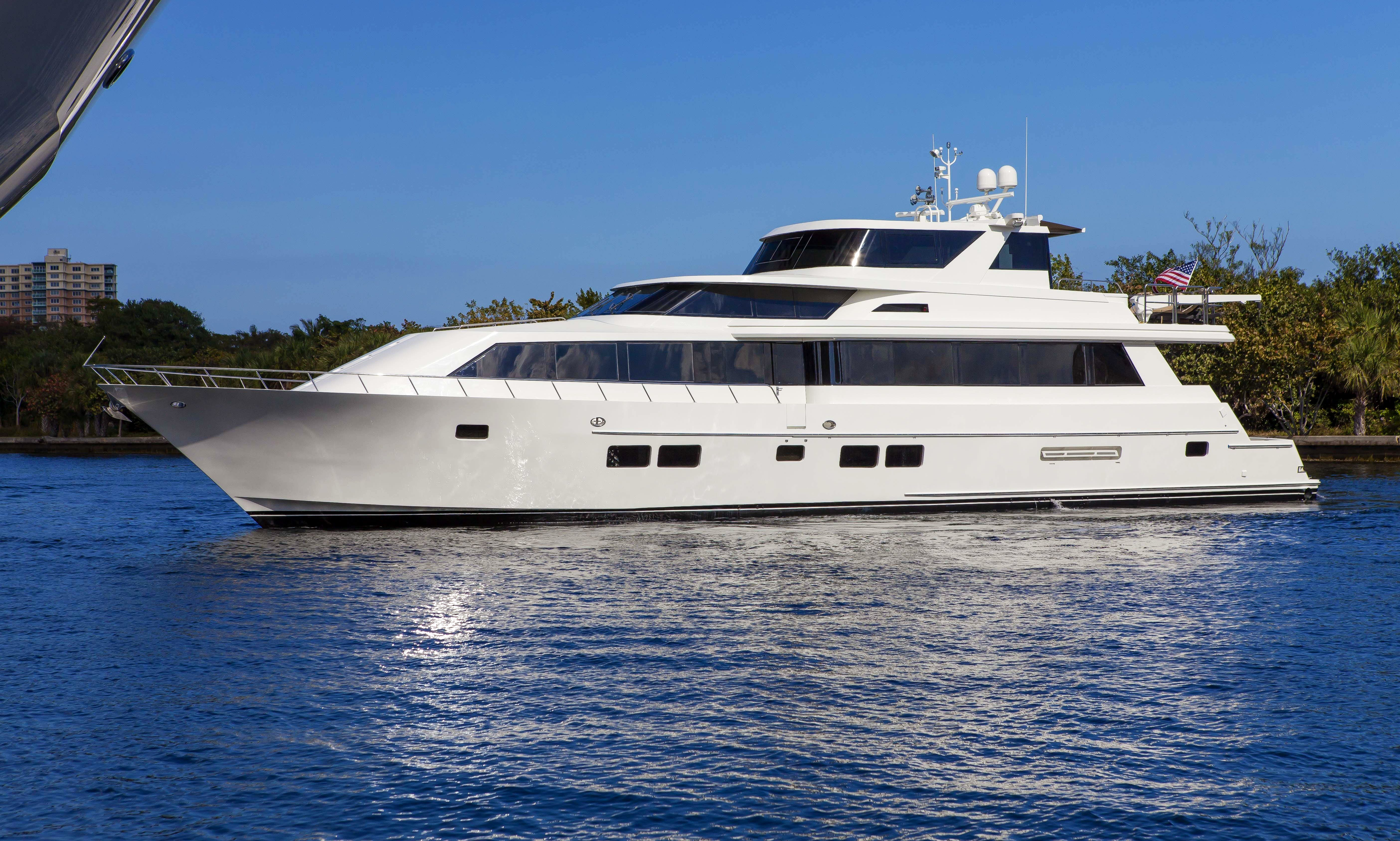 Enjoy 100' Motor Yacht for Rent in Miami