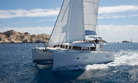 Sailboat Lagoon 400 Catamaran Hire In Sant Antoni De Portmany