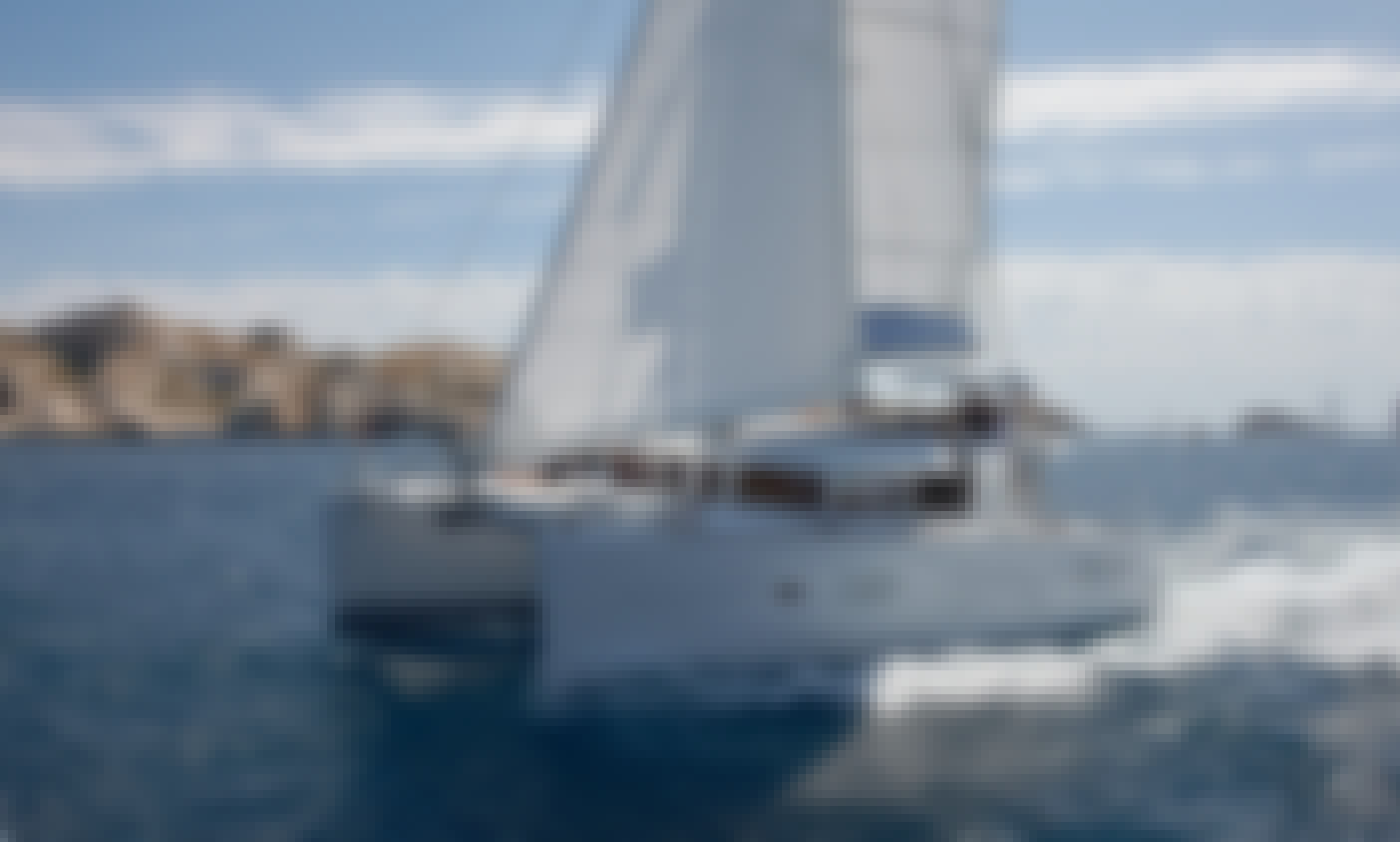 Sailboat Lagoon 400 Catamaran Hire in Sant Antoni de Portmany