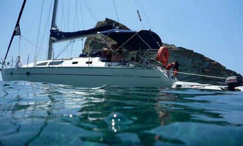 Jeanneau Sun Odyssey 37 Charter in Alimos