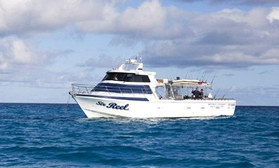 58' Conquest Vessel Coral Sea Fishing Charter