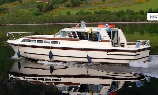 Motor Cruiser Teal Hire In Scotland