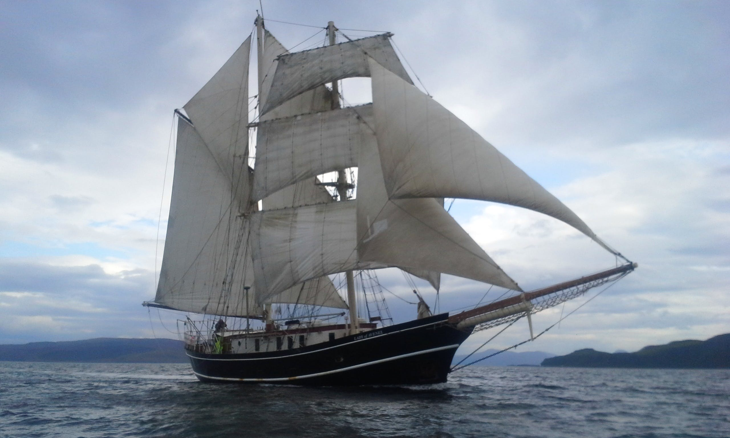 "Sailing Holidays Aboard ""The Lady of Avenel"" in the UK"