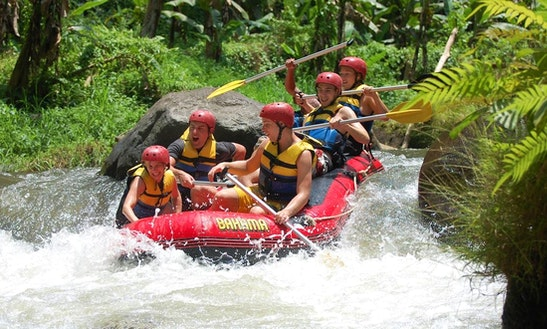 Telaga Waja River White Water Rafting Tour