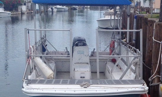 Enjoy Key West, Florida On 24ft Carolina Skiff