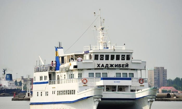 Catamaran motor ships Hadzhibey Hire in Odessa