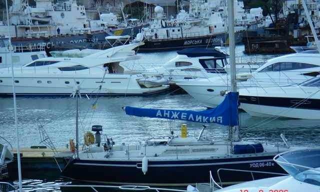 Sailing Yacht Anzhelykyya Hire in Odessa