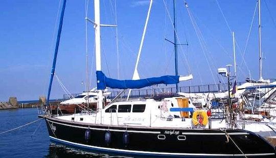 Sailing Yacht Olga Hire In Odessa