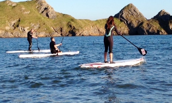 Sup Board Hire And Lessons In Swansea
