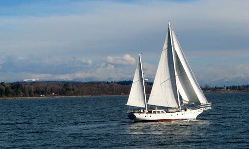 Eco Tours, Sail Training, & Sailing Charters, in White Rock, Canada