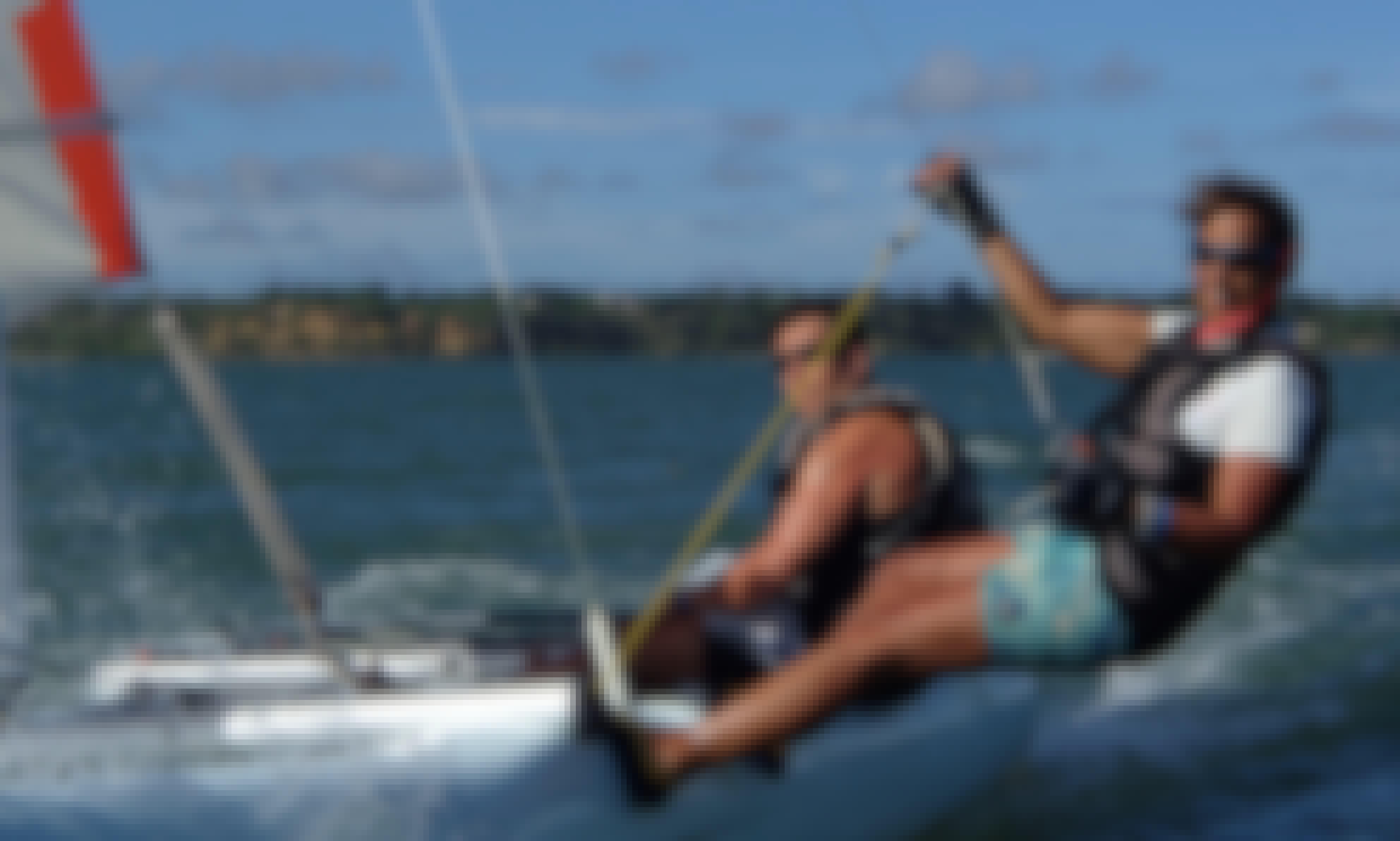 Dart 16 Sailing in Kilifi