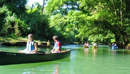 Safari Float By Canoe Along The Rio Peñas Blancas