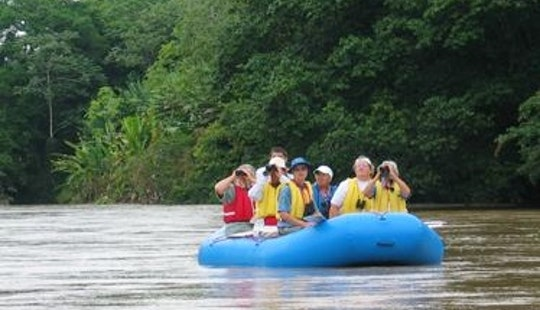 Safari Float By Raft Along The Rio Peñas Blancas