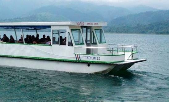 Keyline Ii Van-boat-van Charter Along The Rio Peñas Blancas