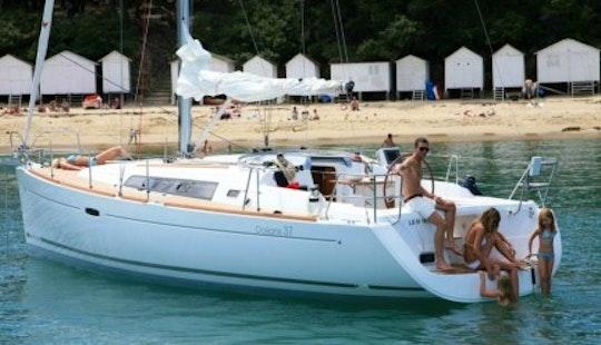 37ft Bavaria 36 Cruiser Boat Rental In Barcelona, Spain