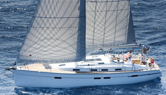 Skippered Sailing Yacht Rental In Kas / Kekova