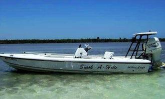 Fishing Charters on 18' Flatsmaster Action Craft