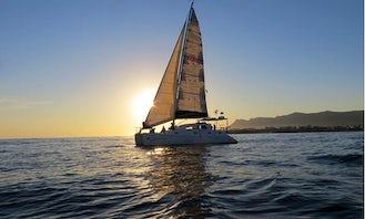 Enjoy 36' Ocean Quest Catamaran Charter in Hermanus, Western Cape