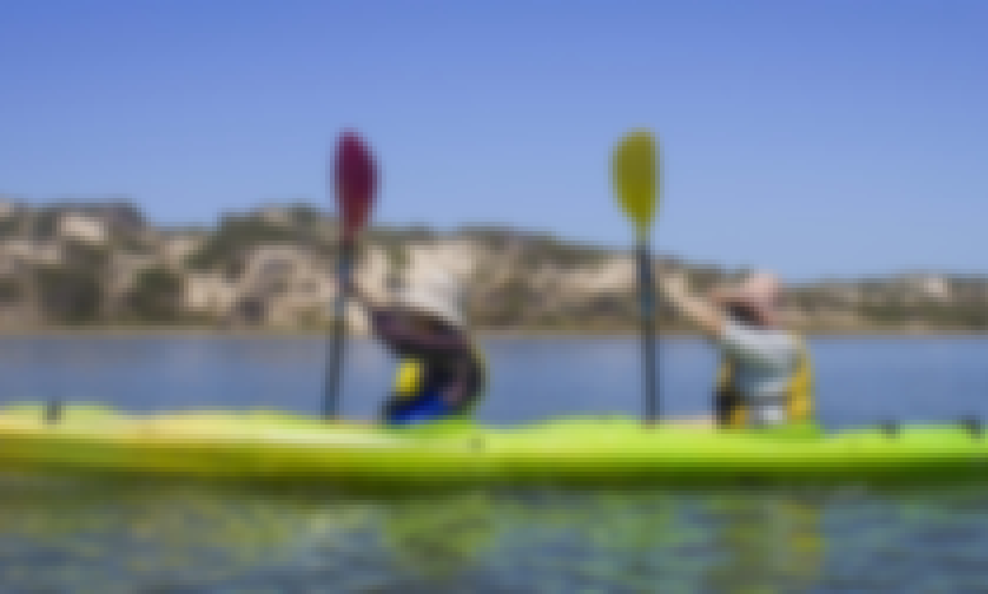 Tandem Kayak Rental in Goolwa (double kayak)
