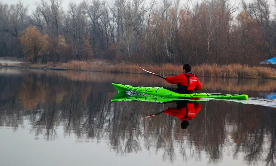 Enjoy Kayaking in Київ, Ukraine