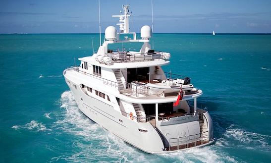 Motor Yacht Christina G Charter In Mediterranean