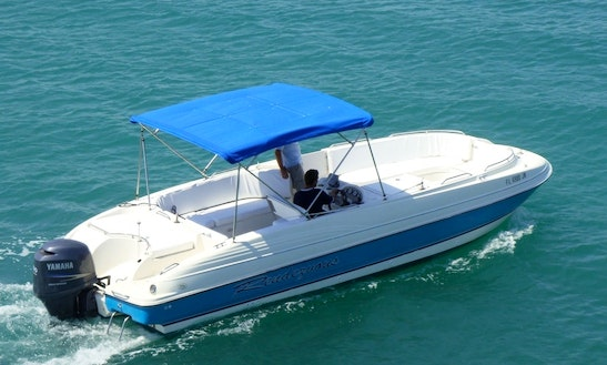 26' Deck Boat Rental In Merritt Island, Florida