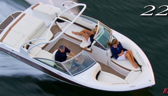 2014 Cobalt Deck Boat Rental In Mallorca, Spain