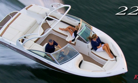 2014 Cobalt Deck Boat Rental In Mallorca, Spain