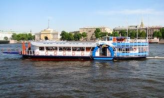 "Chart Boat-restaurant ""City Blues"" in Sankt-Peterburg"